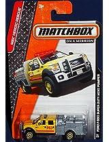 2014 Matchbox MBX Heroic Rescue (82/120) - Ford F-550 Super Duty Mini Pumper