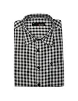 Blog Men's Black Full Sleeve Formal Shirt-FS29