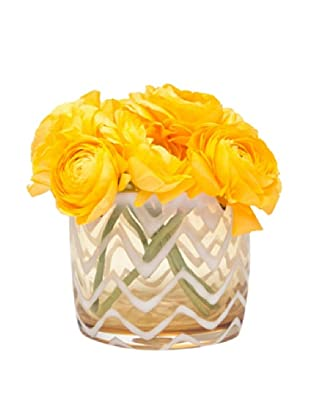 Chive Amber Waves Vase
