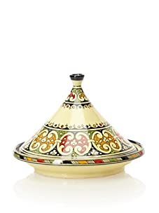 Hand-Painted Ceramic Tagine (Multi)
