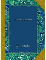 Sanskrit Lesebuch