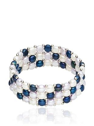 Nova Pearls Copenhagen Armband Dreireihig