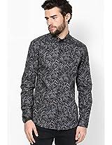 Printed Grey Casual Shirt I Know