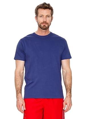 Cortefiel Camiseta Básica (azulón)