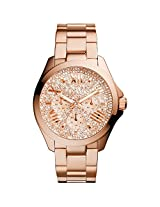 Fossil Cecile Analog Silver Dial Women's Watch - AM4604I
