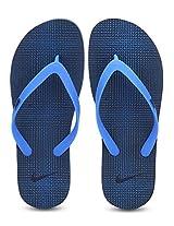 Aquaswift Thong Prt Navy Blue Flip Flops