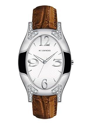 K&BROS 9157-3 / Reloj de Señora  con correa de piel marrón