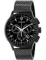 Movado Circa Black Mesh Chronograph Mens Watch 0606804