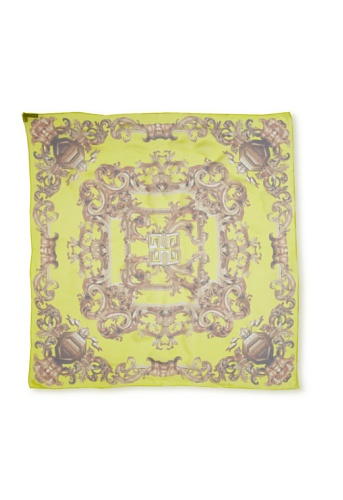Givenchy Women's Arabesque Scarf, Yellow