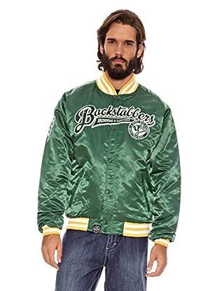 Grimey Wear Chaqueta Satinada Backstabbers (Verde)