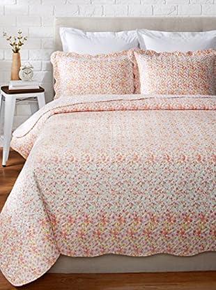Eileen West Marigold Reversible Quilt Set