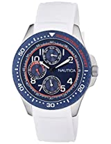 Nautica Analog White Dial Men's Watch  - NTA13683G