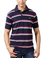 Allen Solly Contrast Polo Tee With Logo Detail