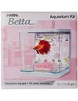 Marina Betta Aquarium Kit, 2 L