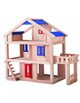 Plan Toys Plan Toys Dollhouse Series Terrace Dollhouse