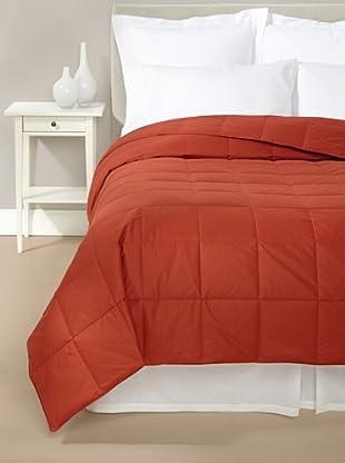 Mélange Home Down Blanket (Brick)