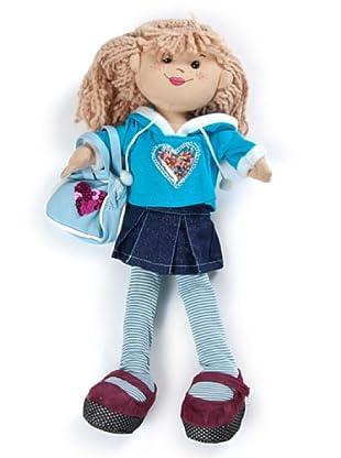 My Doll Muñeca Albina  azul