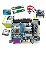 Zebronics Motherboard Kit With 2.4Ghz Intel Core2 Duo CPU, 2GB DDR2 RAM & Intel CPU FAN