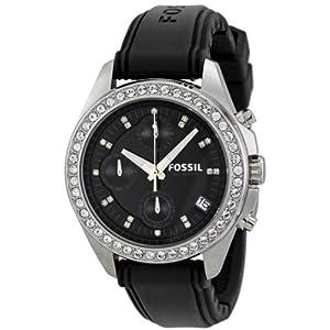 Fossil ES2882 Women's Watch-Black