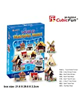 "CubicFun 3D Puzzle C-Series ""World Traditional House"""