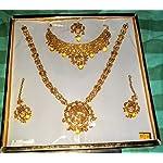 Micro gold plated jewel set
