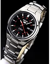 Seiko Automatic SNK617 Black Analogue Watch - For Men