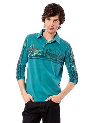 Custo Poloshirt Chick (Aquamarin)