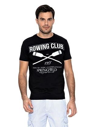 Springfield Camiseta Rowing (Negro)
