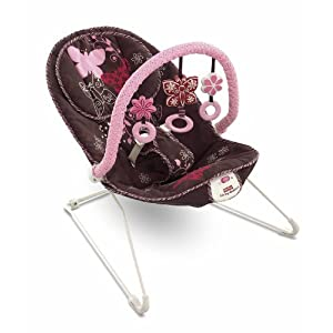 Fisher-Price Bouncer, Mocha Butterfly (Discontinued by Manufacturer)