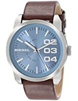 Diesel Double Dow Analog Blue Dial Men's Watch - DZ1512