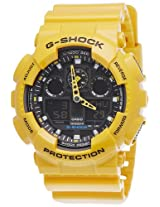 Casio G-Shock Analog-Digital Black Dial Men's Watch - GA-100A-9ADR (G273)