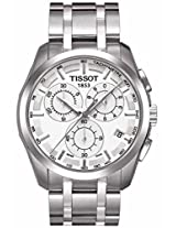 Tissot Couturier PRC 200 T035.617.11.031.00 White Dial Men's Watch