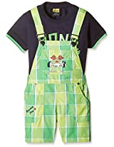 Seals Boys' Dungaree (Pack of 2)