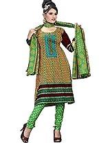 RGN Retails Cotton Unstitched Dress Material For Salwar Suits Kameez RGN-1530