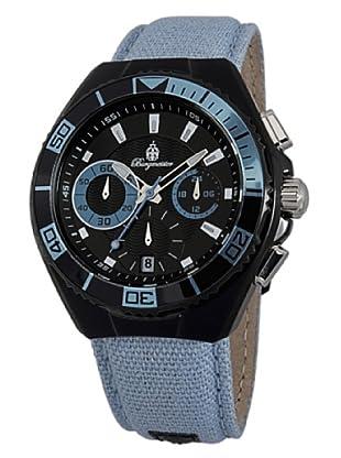 Burgmeister Herren-Armbanduhr XL Marseille Chronograph Quarz Textil BM609-623