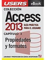 Access 2013: Propiedades y formatos (Colección Access 2013)