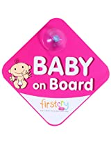 Baby on Board Magenta