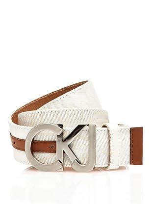 Calvin Klein Jeans Cinturón Cw22Bi (Blanco)