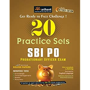 SBI PO Examination 20 Practice Sets: New Edition (Old Edition)
