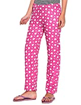 Illuminati Lifestyle Women's Cotton Pajama (Multi-Coloured, Medium)