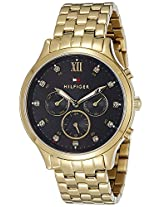 Tommy Hilfiger Chronograph Black Dial Women's Watch - TH1781612J
