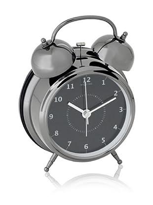 NeXtime Wake Up Table Clock (Metal/Black)