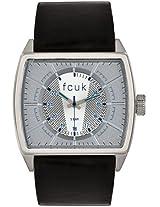 FC1078SSGN Black / Grey Analog Watch FCUK
