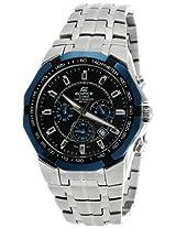 Casio Edifice Chronograph Black Dial Men's Watch - EF-540D-1A2VDF (ED466)