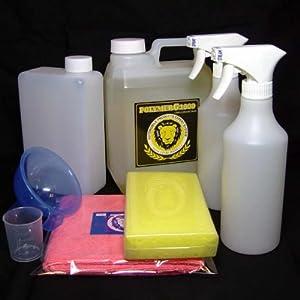 【クリックで詳細表示】コーティング剤 超撥水性能を装備したガラス繊維系コーティング剤・濃縮原液タイプのポリマーG1000・2000mlのかなりお得なセット