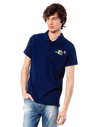 Custo Poloshirt Tab (Marineblau)