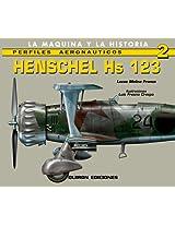 Henschel Hs 123 (Perfiles Aeronauticas)