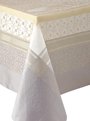 Garnier-Thiebaut Isaphire Tablecloth (Platine)