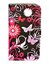 Apple iphone 5 5G DESIGNER SELF PRINT SYNTHETIC LEATHER FLIP Case COVER STYLE 2