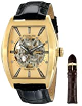 "Stuhrling Original Men's 182C3.333531 ""Leisure Millennia Master"" Stainless Steel Automatic Watch"